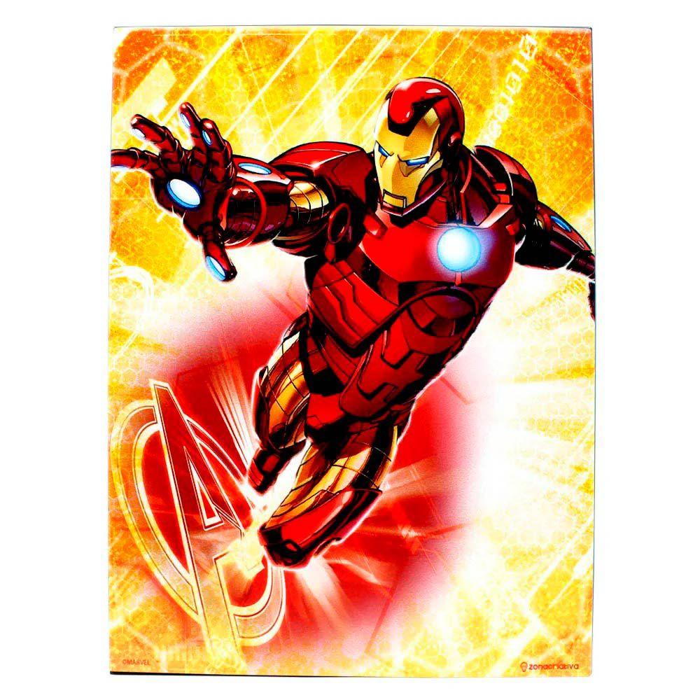 Quadro Metal Homem de Ferro