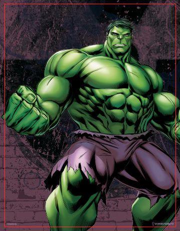 Quadro Metal Hulk Avengers