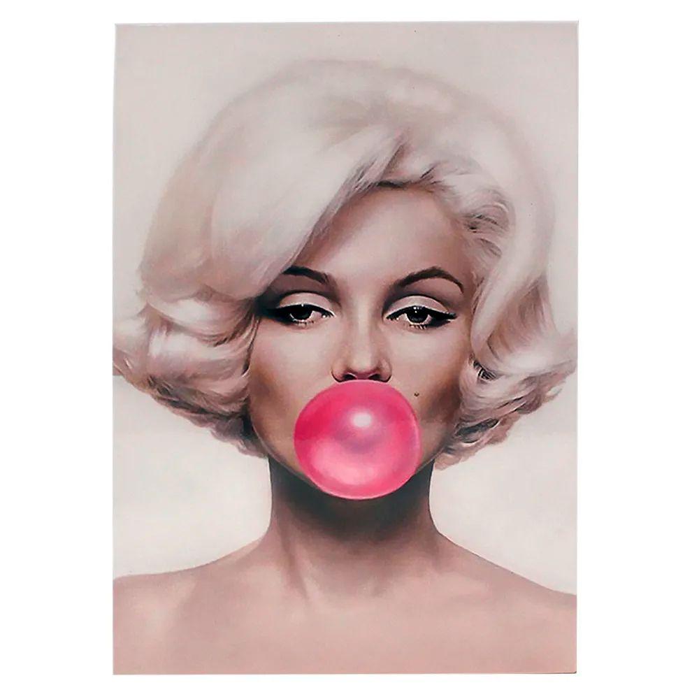 Quadro Metal Marilyn Monroe