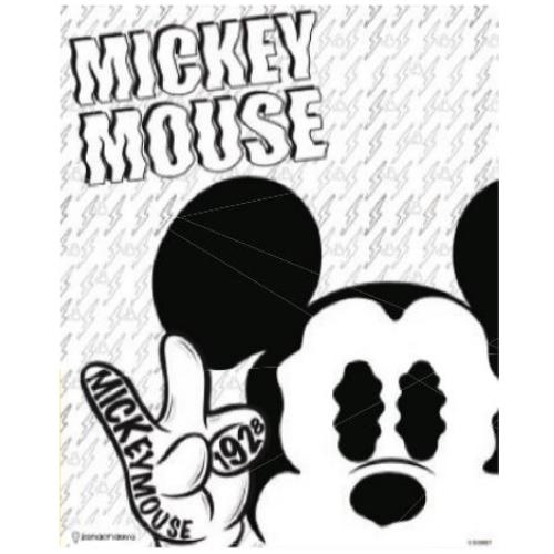 Quadro Metal Mickey Mouse