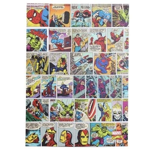 Quadro Personagens 50x70cm HQ Comics color