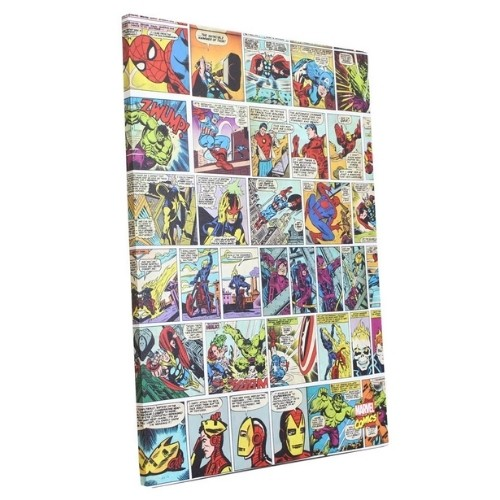 Quadro Marvel - Historias em quadrinhos Tela UVL