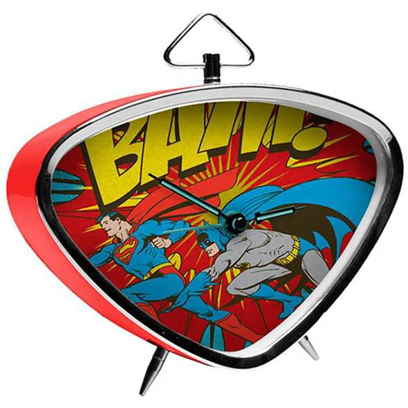 Relógio de Mesa Batman Bam