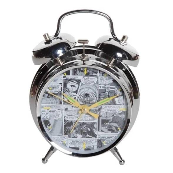 Relógio de Mesa DC Comics Sépia