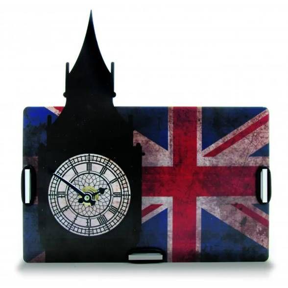 Relógio de Mesa e Porta Treco Londres