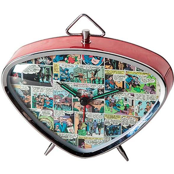 Relógio de Mesa Quadrinhos DC Comics