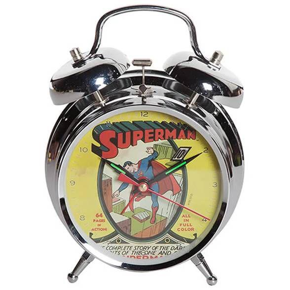 Relógio de Mesa Superman Cover