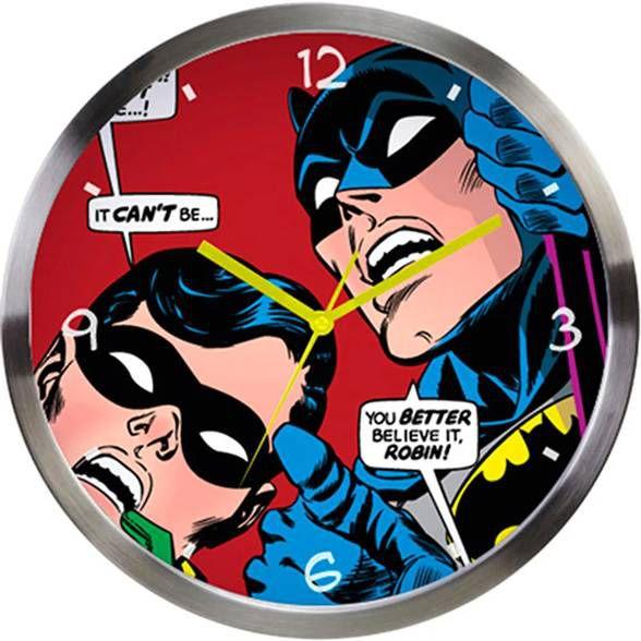 Relógio de Parede Batman e Robin