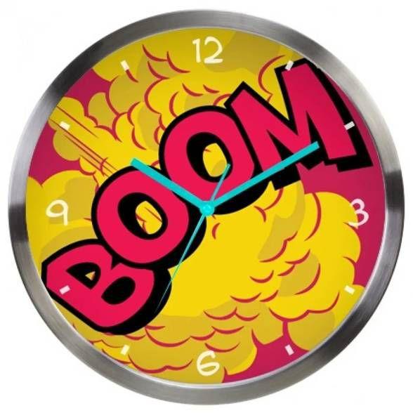 Relógio de Parede DC Comics Boom