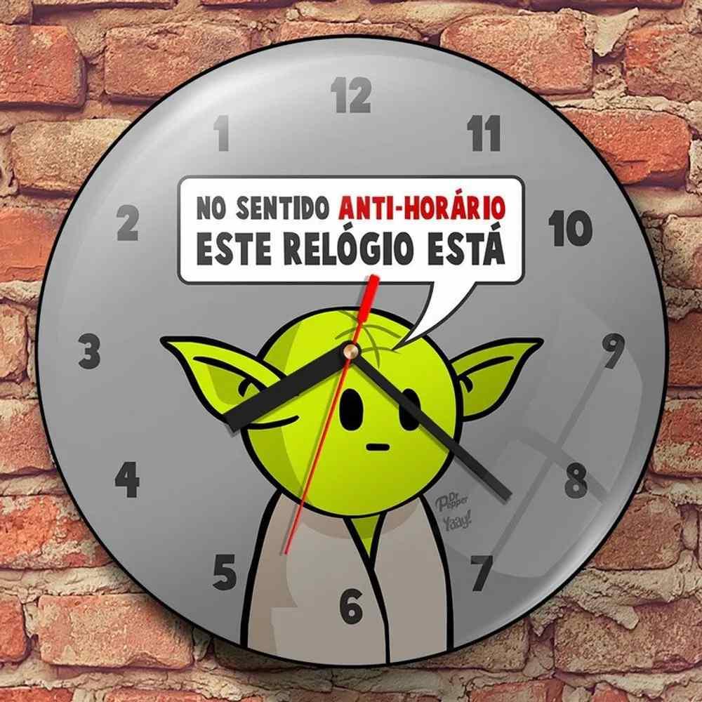 Relógio de Parede DrPepper Mestre MiniOda