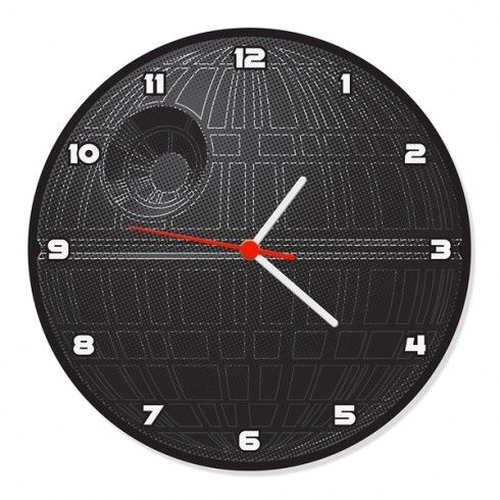 Relógio de Parede Estrela Da Morte - Star Wars