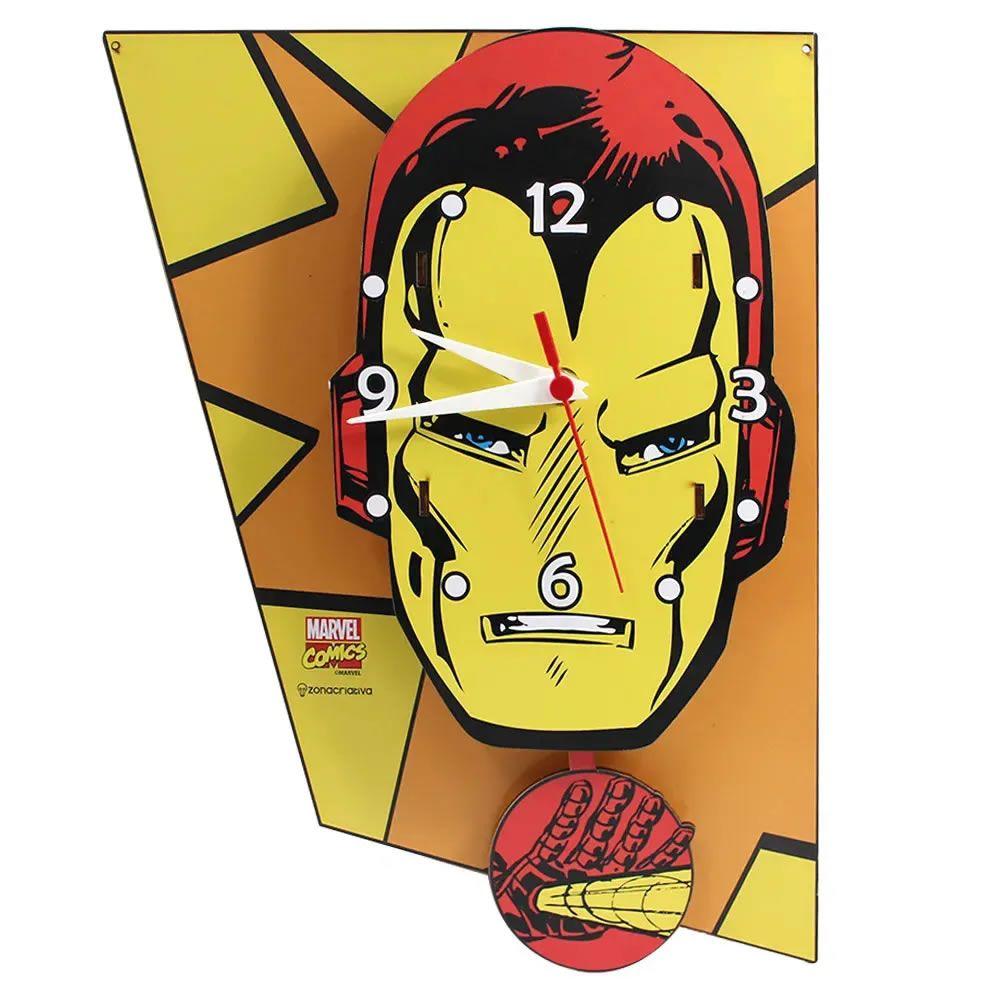 Relógio de Parede Iron Man