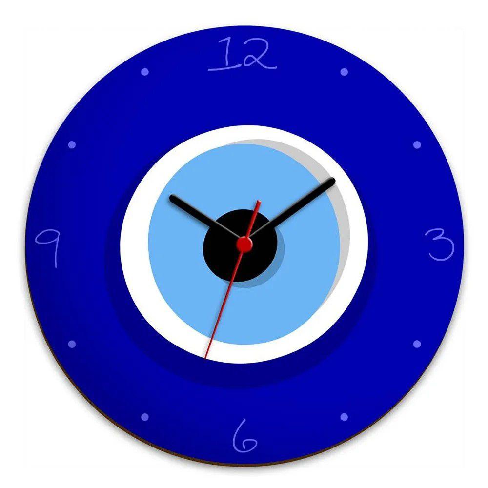 Relógio de Parede Olho Grego