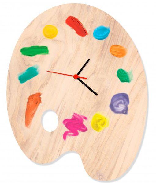 Relógio de Parede Paleta