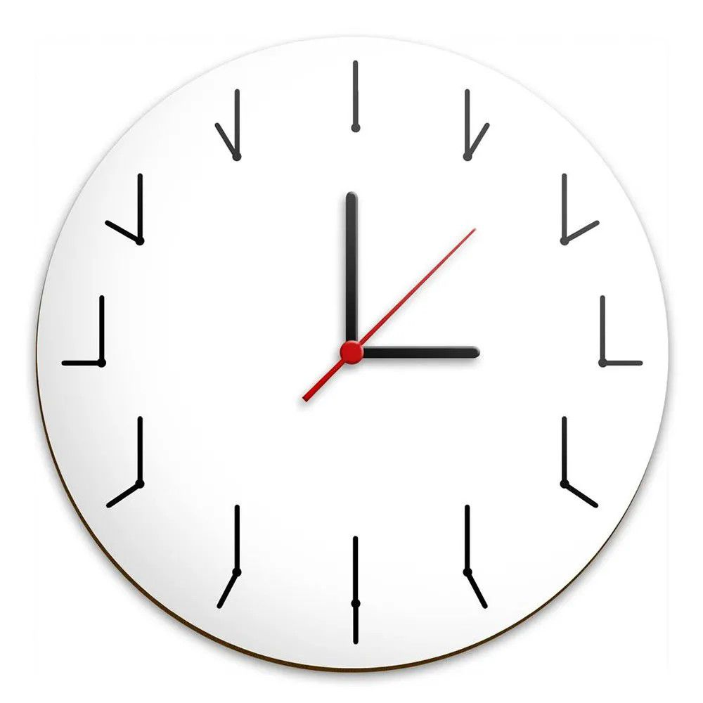 Relógio de Parede Ponteiros