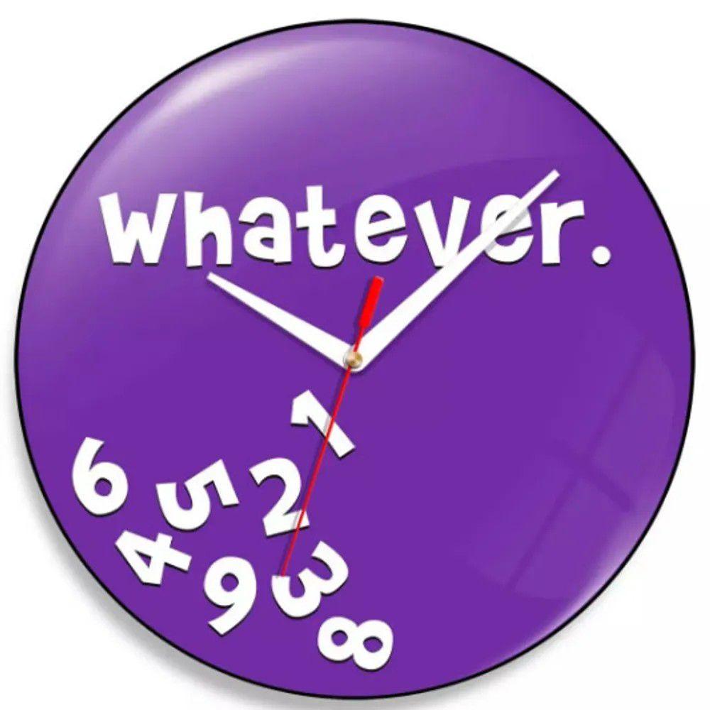 Relógio de Parede Whatever