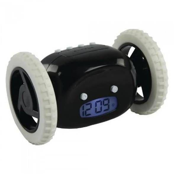 Relógio Despertador Fugitivo