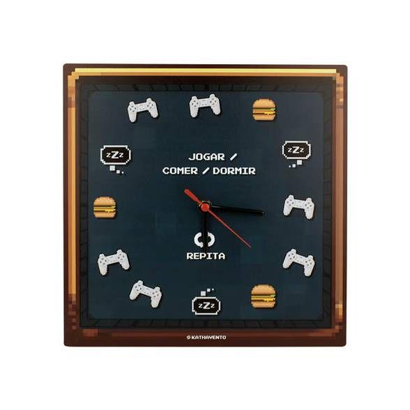 Relógio Pixel