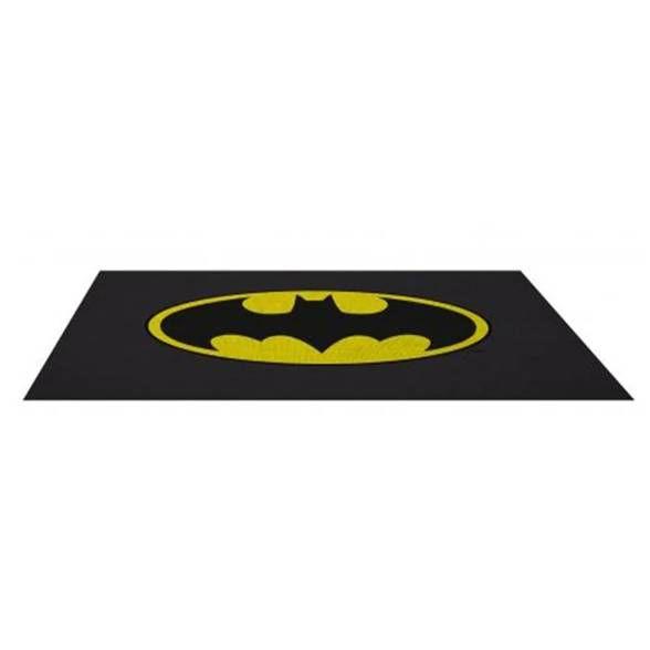 Tapete de banheiro logo do Batman
