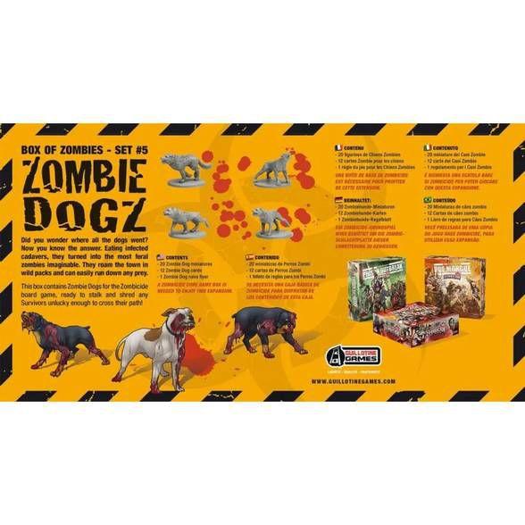 Zombie Dogz - Expansão, Zombicide
