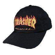 Boné Thrasher Boné Thrasher Flame Logo Aba Curva