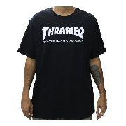 Camiseta Thrasher Skatemag Preta