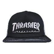 Boné Thrasher Trucker - Preto E Cinza