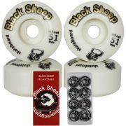 Roda Black Sheep 51mm e Rolamento Black Sheep Red