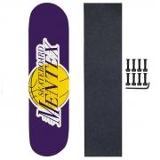 Shape Skate Mentex 8.125 com Lixa Parafuso Base porca 10