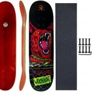 Shape Skate Woodlight 8.25 Lixa Emborrachada Parafuso Base