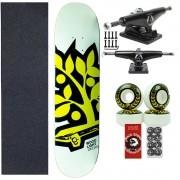 Skate Completo Profissional WoodLight Fiberglas