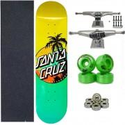 Skate Santa Cruz Completo Alta Qualidade