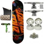 Skate Santa Cruz Completo com Lixa Jessup + Chave montagem