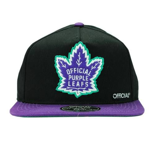 Boné Official - California Purple Leafs - Snapback