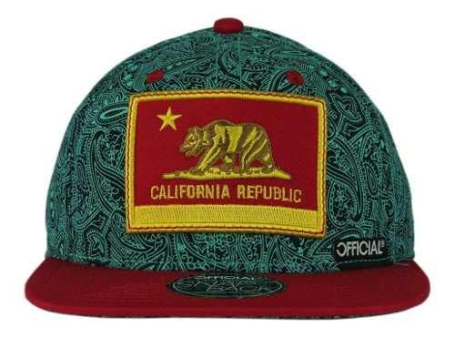 Boné Official - California Republic - Snapback
