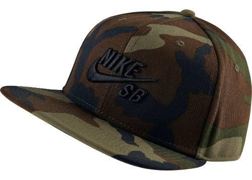 Boné Nike Sb - Camuflado - Snapback
