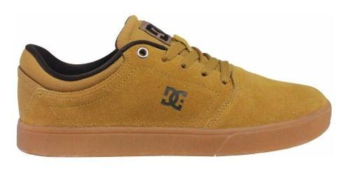 Tênis Dc Shoes Crisis La Wheat Mostarda