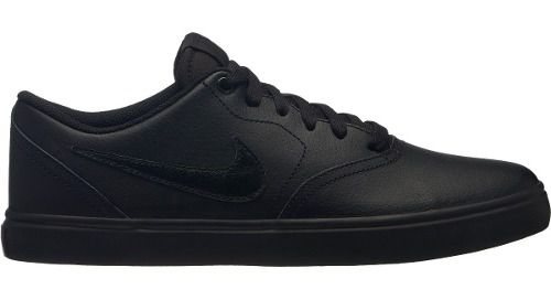 Tênis Nike Sb Modelo Check Solar All Black