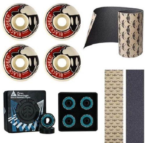 Kit Roda Black Sheep + Rolamento Element + Lixa Jessup