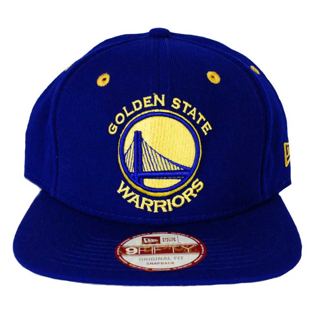 Boné Nba Golden State Warriors New Era Snapback Azul