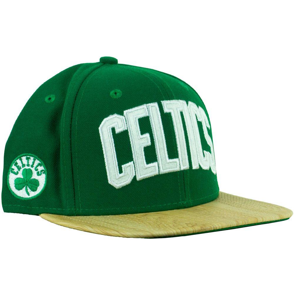 Boné New Era Celtics  Aba Reta Snapback Verde