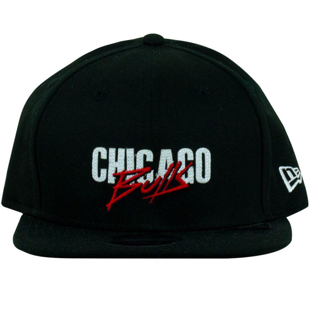 Boné New Era Chicago Bulls Preto