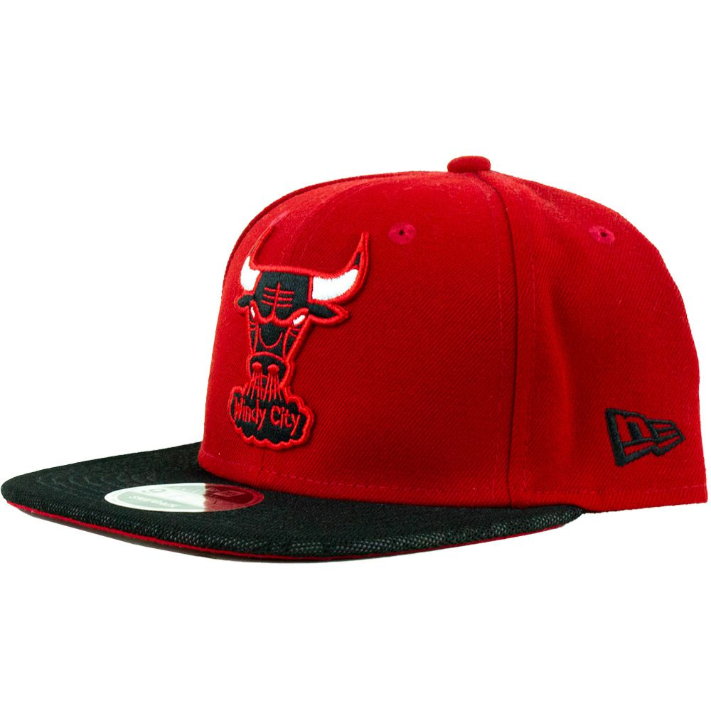 Boné New Era Chicago Bulls Wind City Snapback