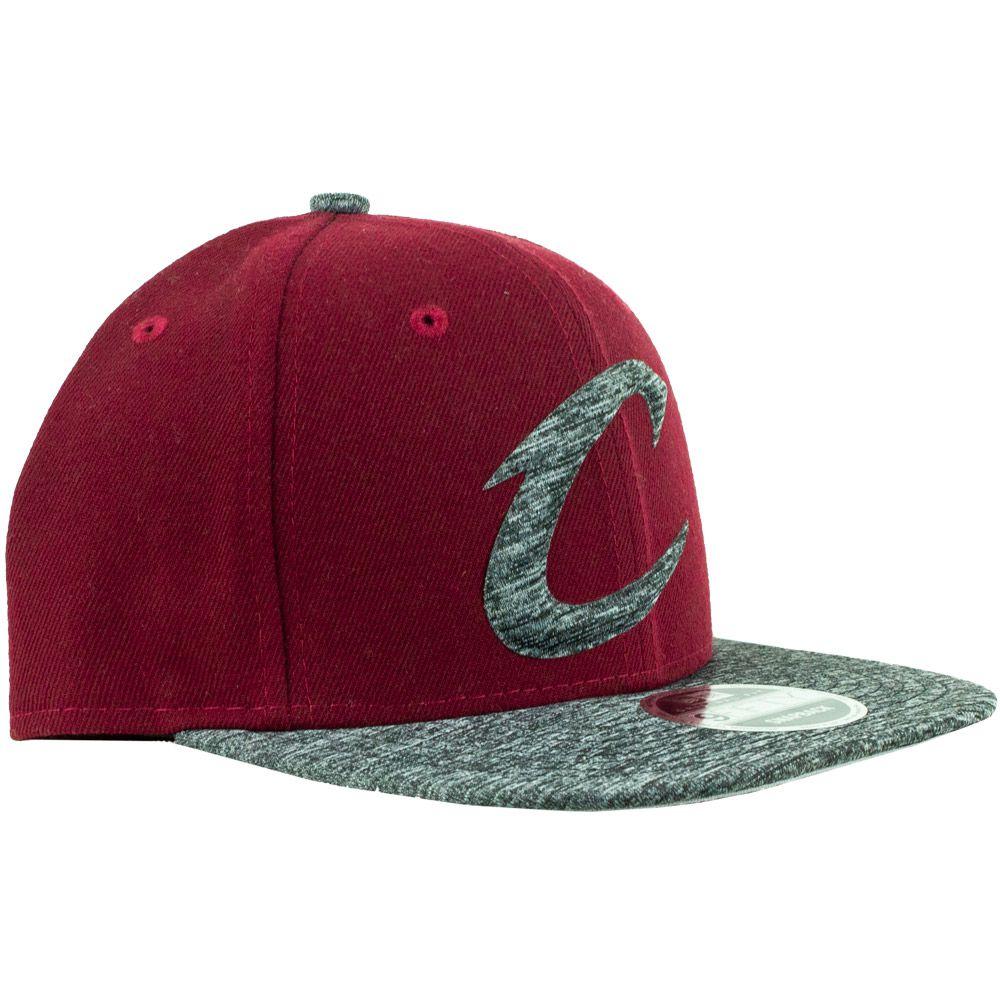 Boné New Era Cleveland Cavaliers Aba Reta Snapback Vinho