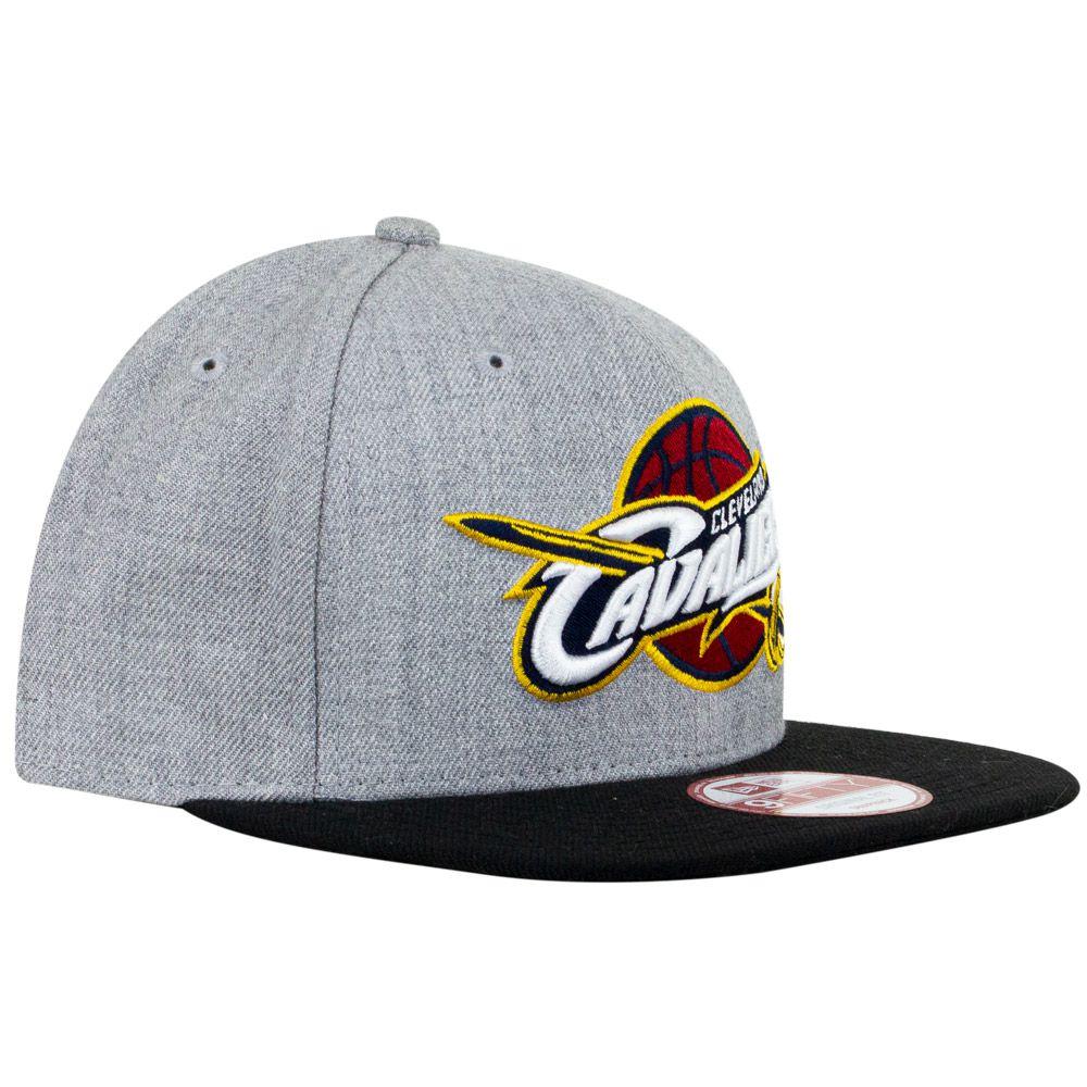 Boné New Era Cleveland Cavaliers Cinza Snapback
