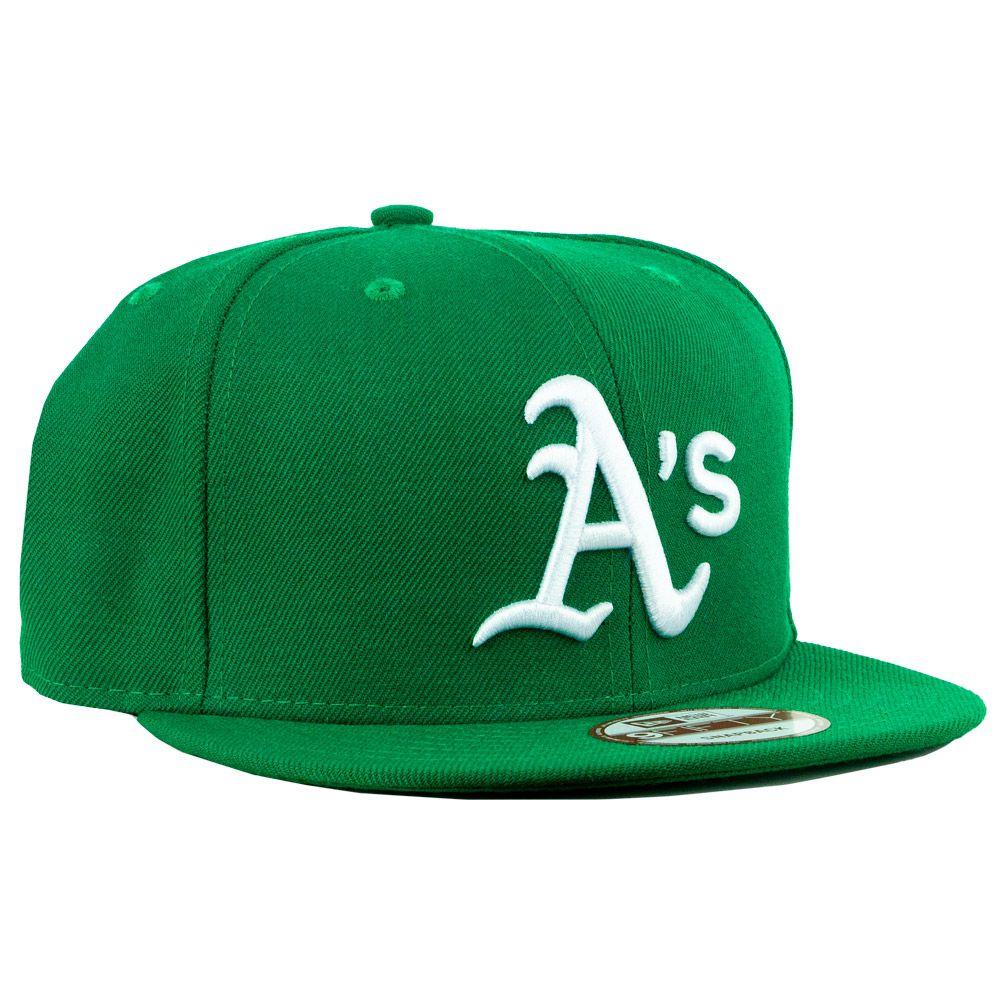 Boné New Era Oakland Athletics Aba Reta Snapback Verde