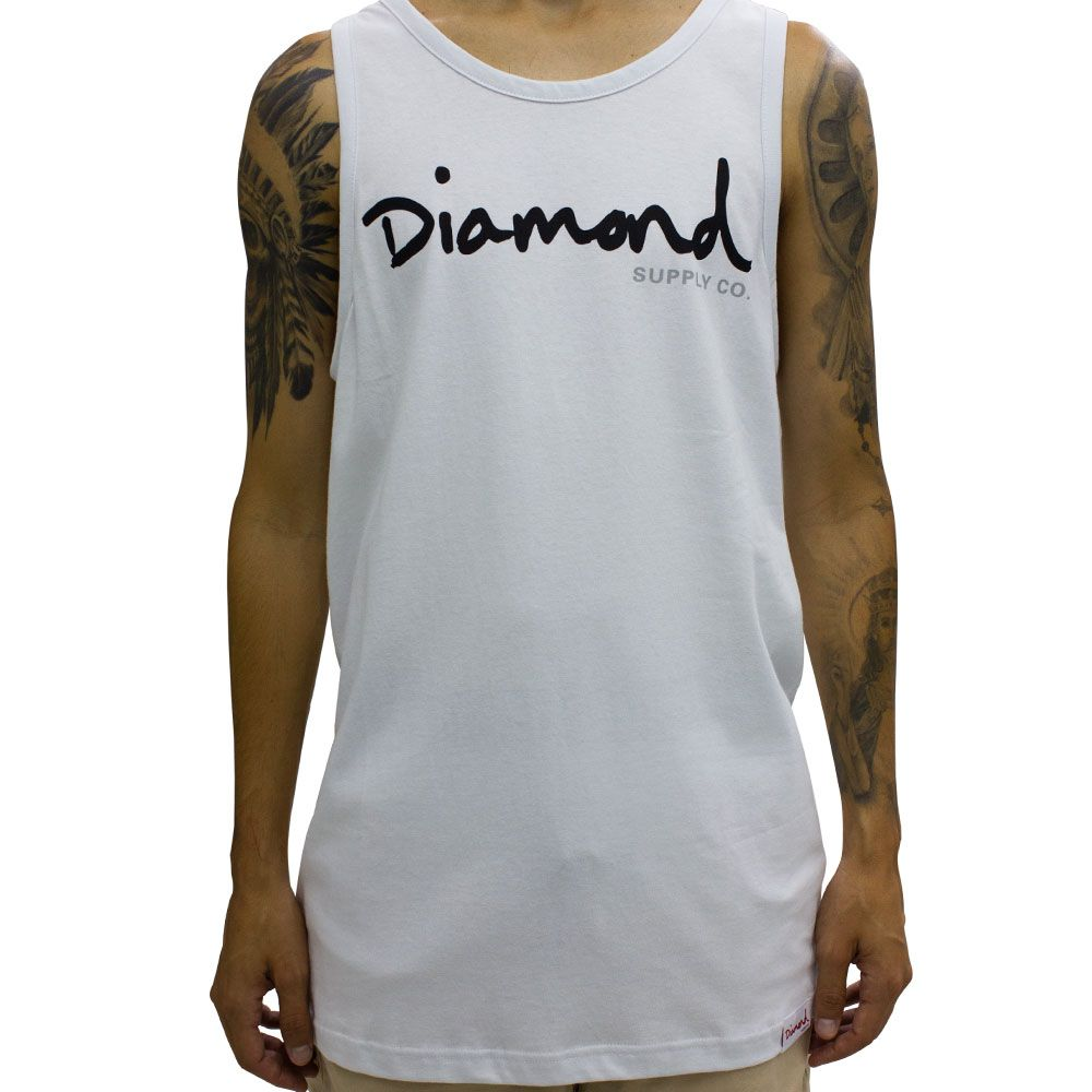 Camiseta Diamond Supply Regata