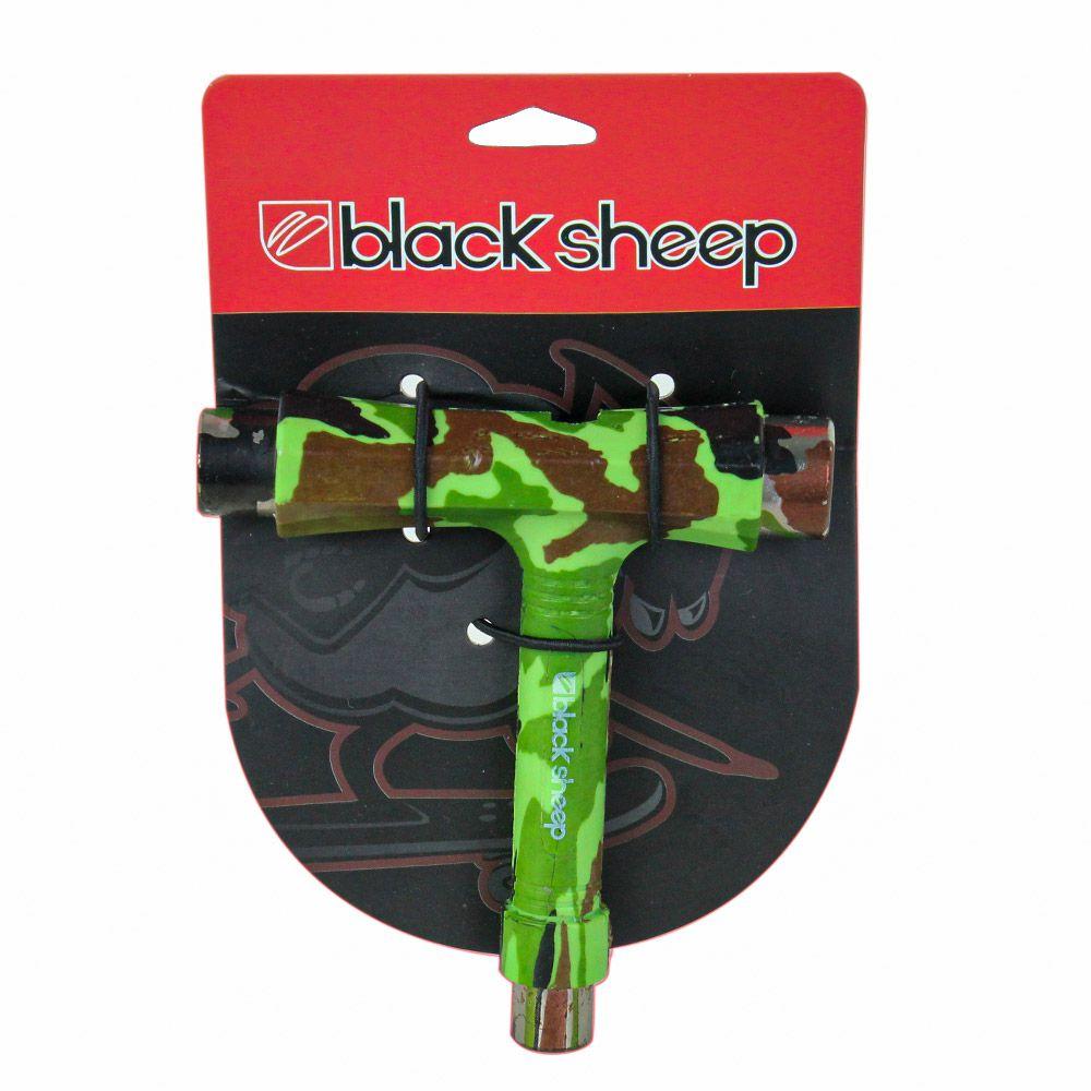 Chave Para Skate Black Sheep T Camuflada