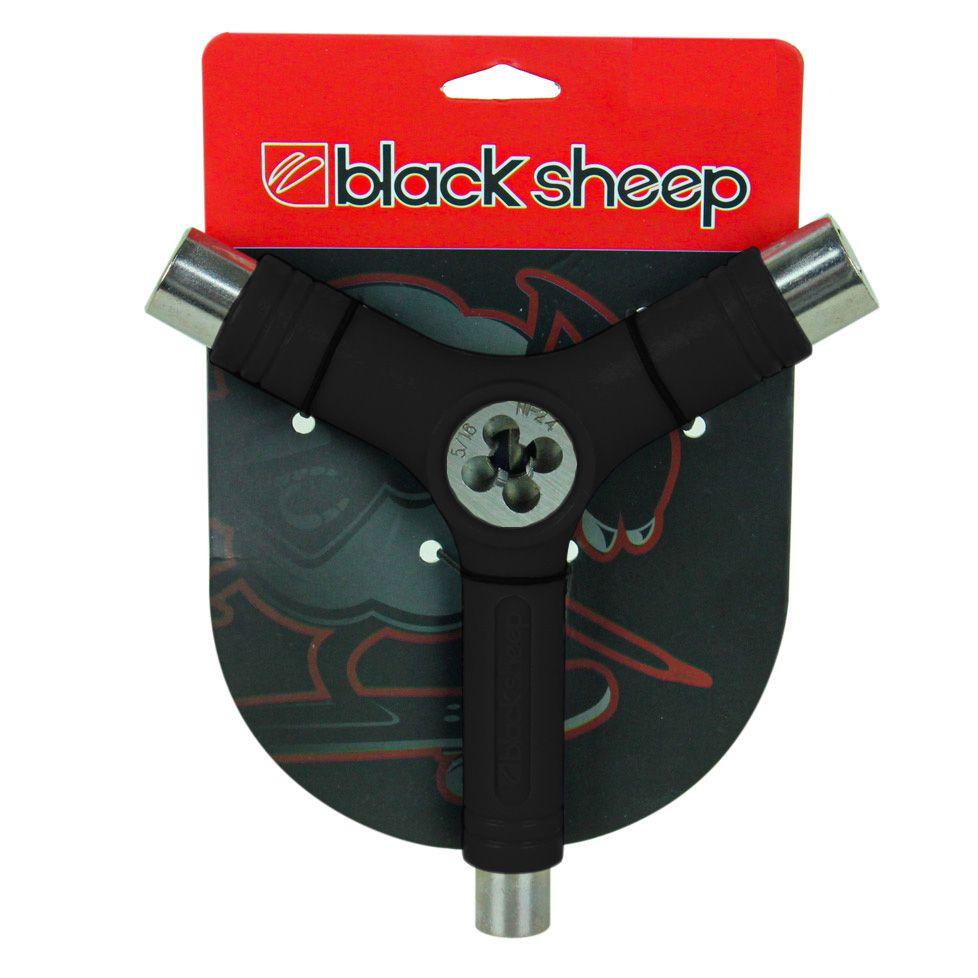 Chave Para Skate Black Sheep Y Cossinete Preta