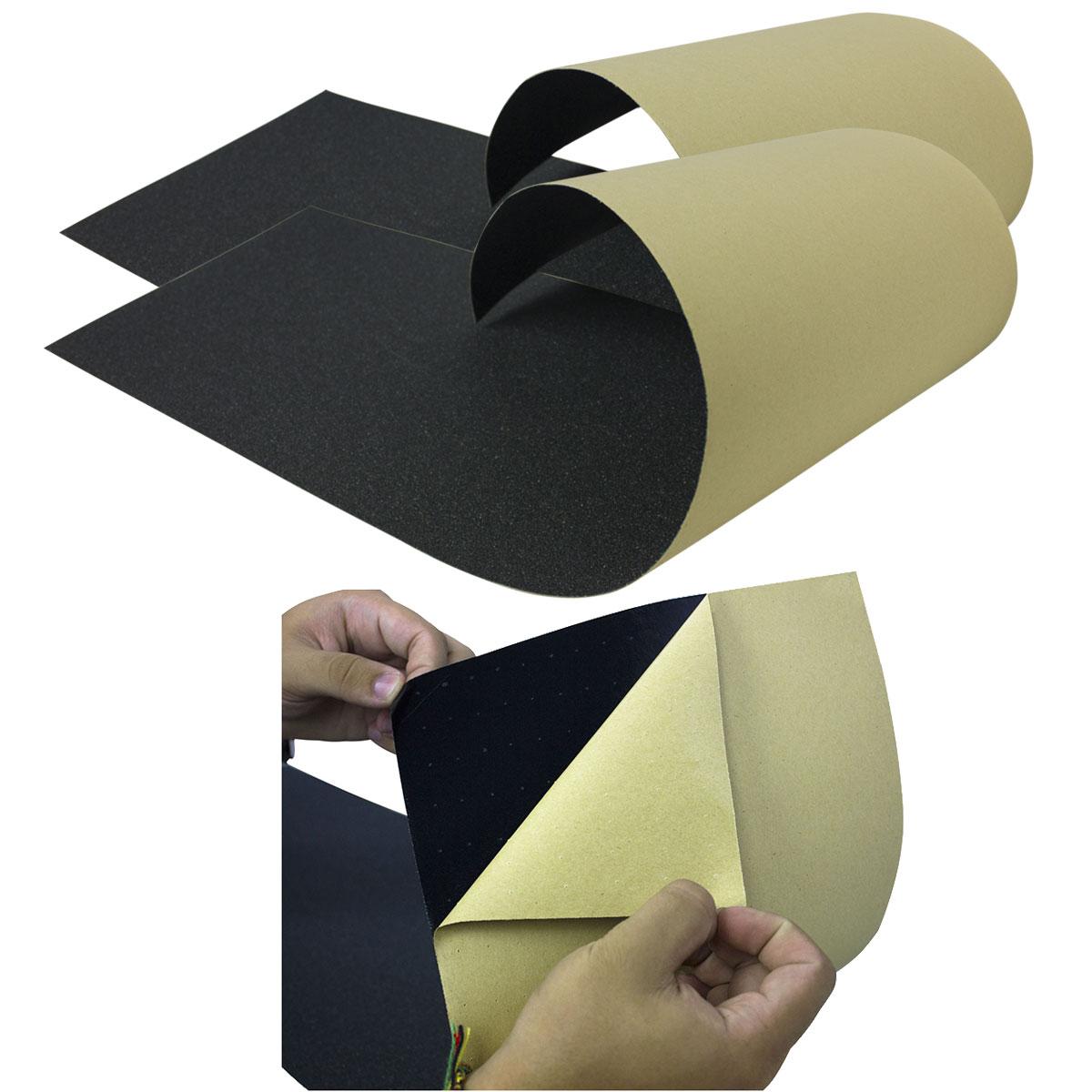 Lixa Emborrachada Importada Micro Furos Kit com 2 Unidades